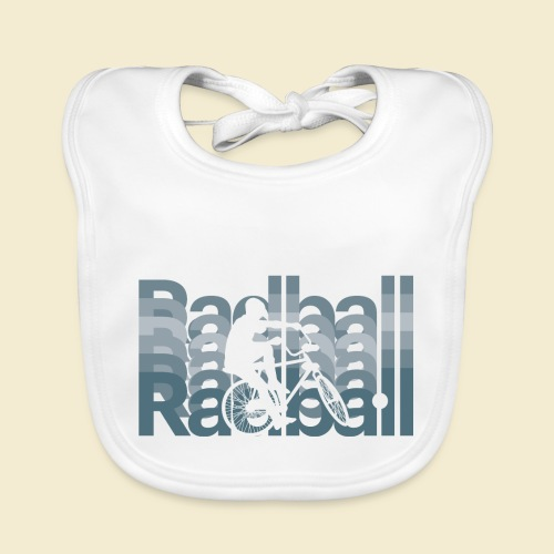 Radball | Typo Art - Baby Bio-Lätzchen