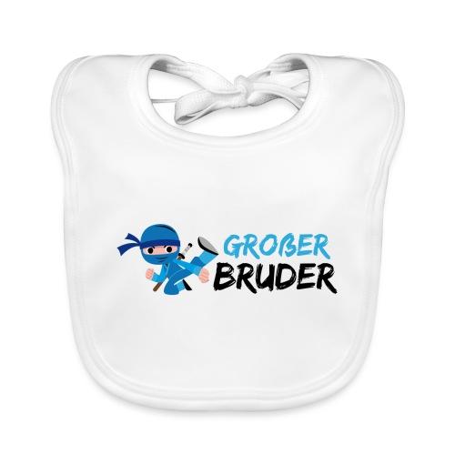 Ninja - Großer Bruder - Baby Bio-Lätzchen