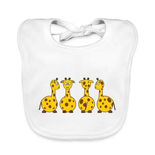 4 giraffen - Baby Bio-Lätzchen