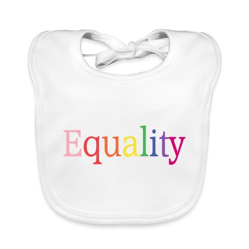 Equality | Regenbogen | LGBT | Proud - Baby Bio-Lätzchen