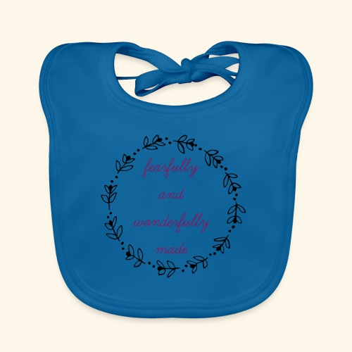 fearfully made large - Organic Baby Bibs