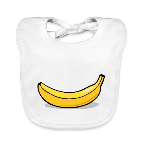 banaan smile - Bio-slabbetje voor baby's