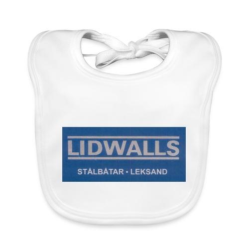 Lidwalls Stålbåtar - Ekologisk babyhaklapp