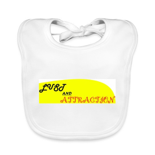 lust ans attraction - Baby Organic Bib