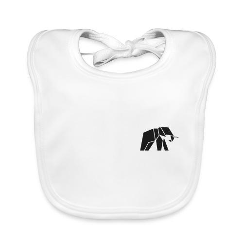 Schönes Elefanten Design für Elefanten Fans - Baby Bio-Lätzchen