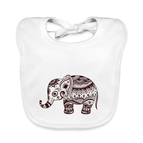 Your-Child Mandala Elefant - Hagesmække af økologisk bomuld
