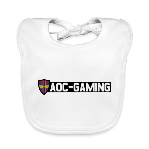 aoc logo s tr - Ekologisk babyhaklapp