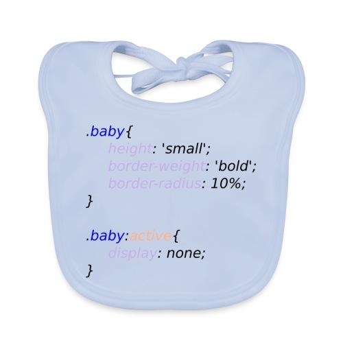 Baby with Style - Babero de algodón orgánico para bebés