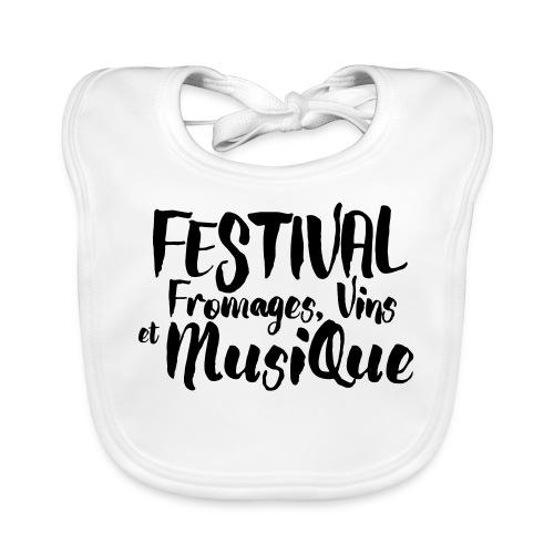 Festival FVM - Bavoir bio Bébé