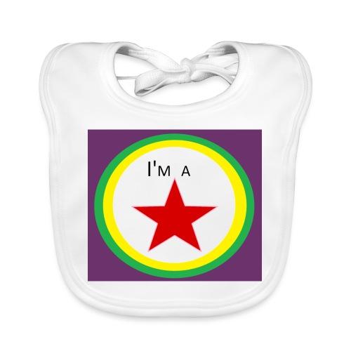 I'm a STAR! - Baby Organic Bib