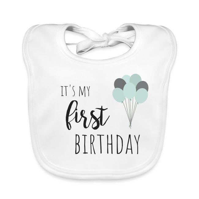 it's my first birthday