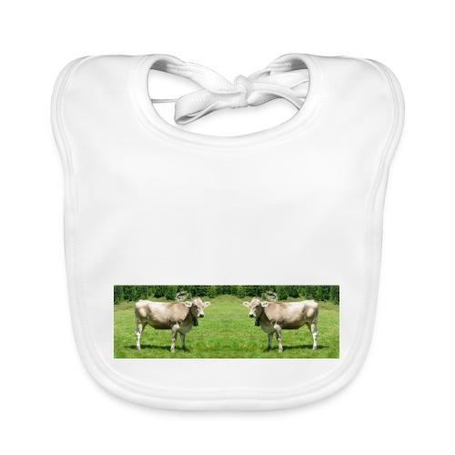 Lätzchen Kühe Muuuuuh - Baby Bio-Lätzchen