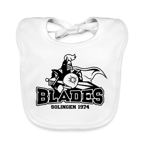 Solingen Blades Logo s - Baby Bio-Lätzchen