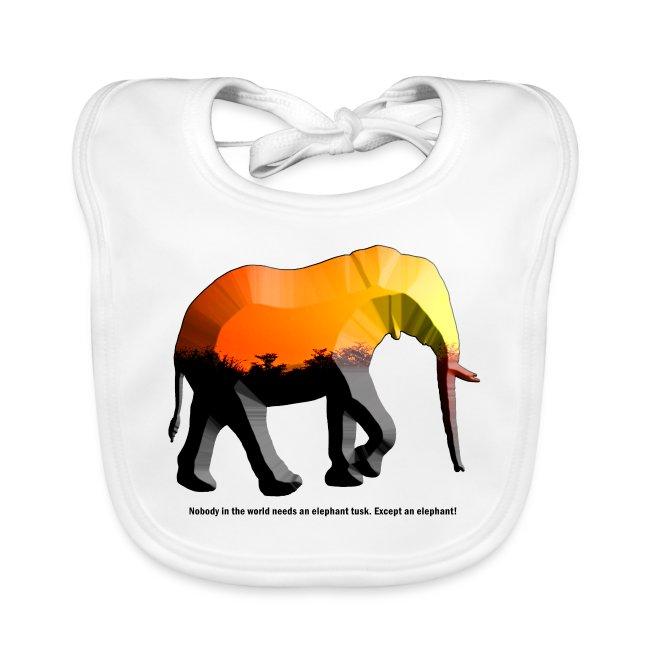 Afrika Elefant - Sonnenuntergang