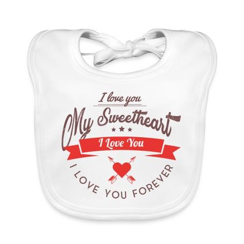 my sweetheart - Ekologiczny śliniaczek