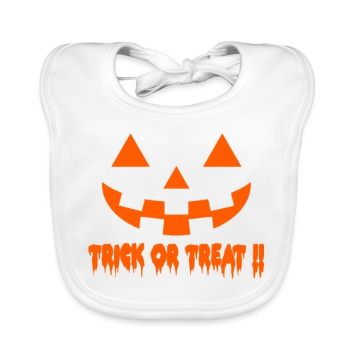 Trick or treat - Baby Organic Bib