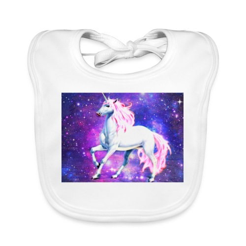Magical unicorn shirt - Organic Baby Bibs