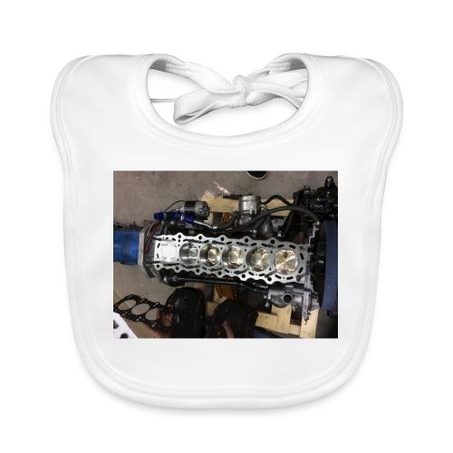 Motor tröja - Ekologisk babyhaklapp