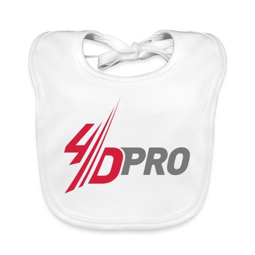 4d pro logo neu - Baby Bio-Lätzchen