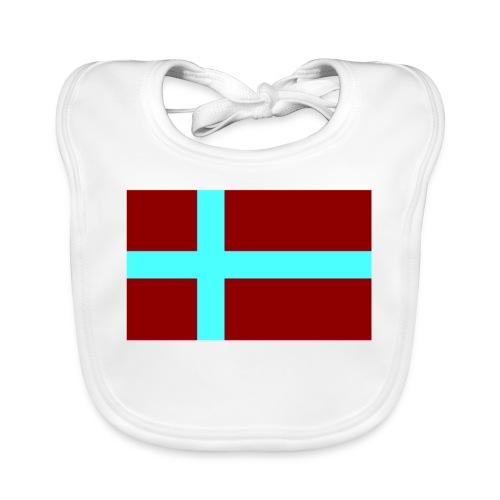 Schwedenflagge, Sweden Sverige schwedisch (pixel) - Baby Bio-Lätzchen