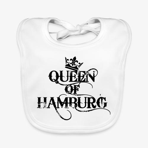 41 Queen of Hamburg Krone Kiez Königin - Baby Bio-Lätzchen