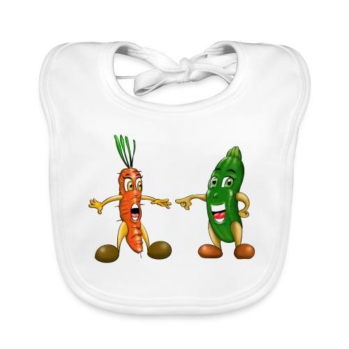 Les légumes du bébé et des végans - Bavoir bio Bébé