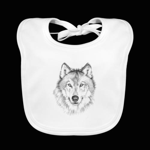 Wolf - Baby økologisk hagesmæk