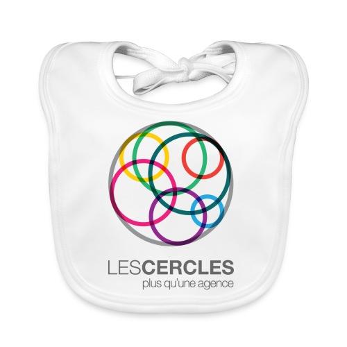 LESCERCLES Logo Colour - Baby Organic Bib