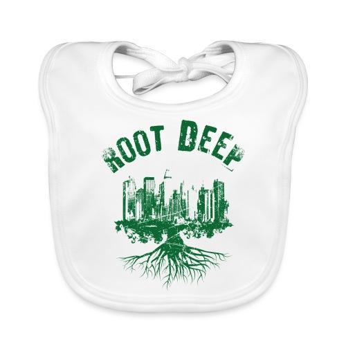 Root deep Urban grün - Baby Bio-Lätzchen