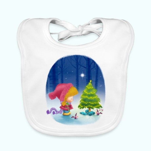Christmas 1 - Baby Organic Bib