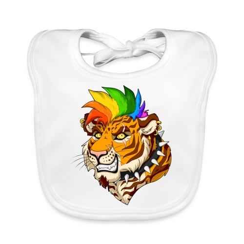 Punk Tiger - Ekologiczny śliniaczek