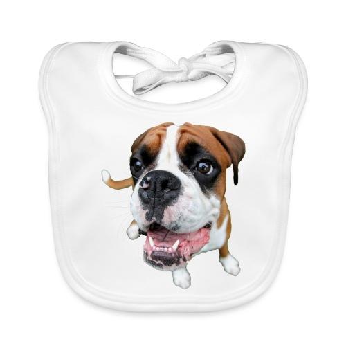 Boxer Rex dog - Baby Organic Bib