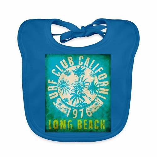 Long Beach Surf Club California 1976 Gift Idea - Organic Baby Bibs