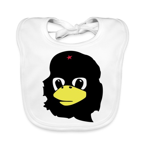 Tux Linux Che Guevara - Ekologiczny śliniaczek