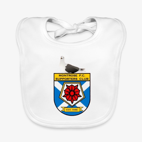 Montrose FC Supporters Club Seagull - Organic Baby Bibs