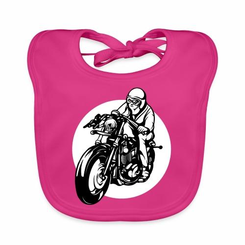 Motorradfahrer - Baby Organic Bib