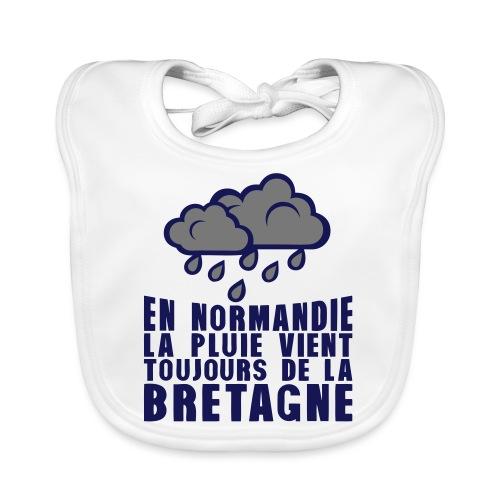 en normadie pluie vient bretagne nuage - Bavoir bio Bébé