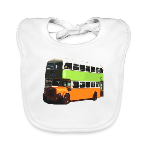 Glasgow Corporation Bus - Organic Baby Bibs