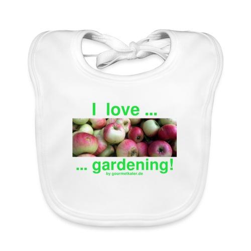 Äpfel - I love gardening! - Baby Bio-Lätzchen
