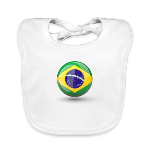 Símbolo da Bandeira do Brasil - Organic Baby Bibs