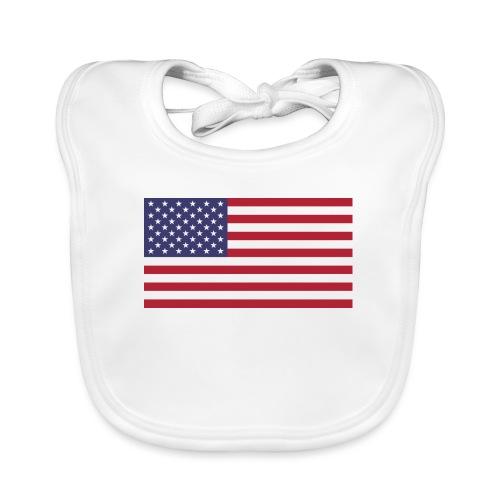 USA flagg - Økologisk babysmekke
