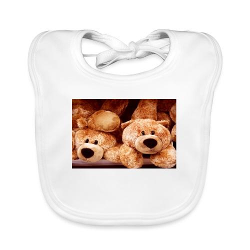 Glücksbären - Baby Bio-Lätzchen