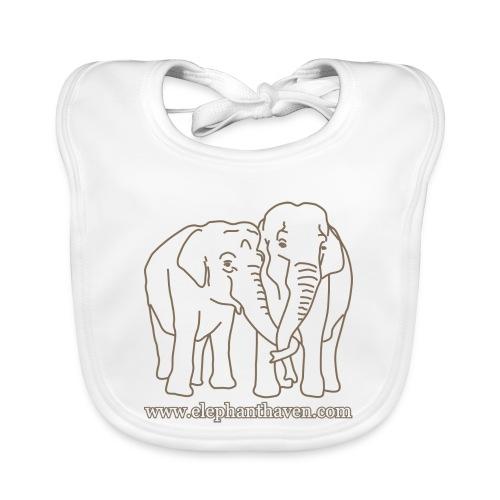 Elephants - Baby Organic Bib