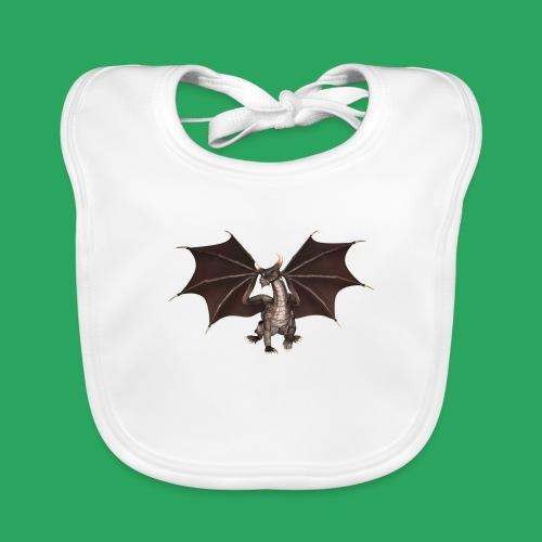 dragon logo color - Bavaglino ecologico per neonato