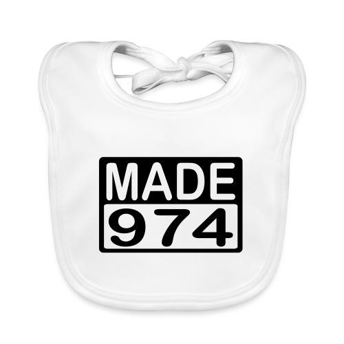 Made 974 - v2 - Bavoir bio Bébé