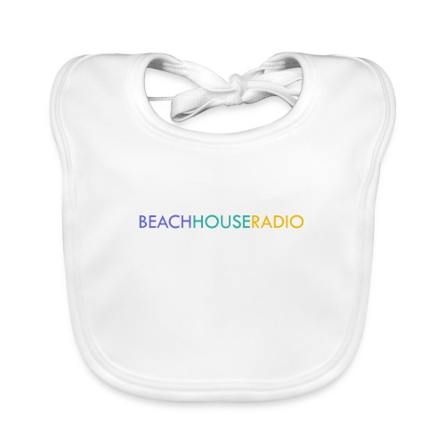 Beach House Radio Logo - Organic Baby Bibs