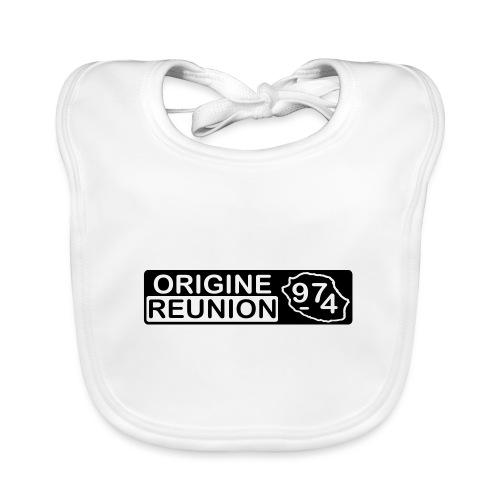 Origine Réunion 974 - v2 - Bavoir bio Bébé