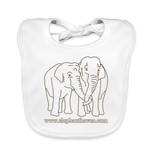 Elephants - Organic Baby Bibs