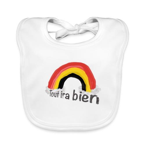 Tour ira Bien - drapeau Belge - Bavoir bio Bébé