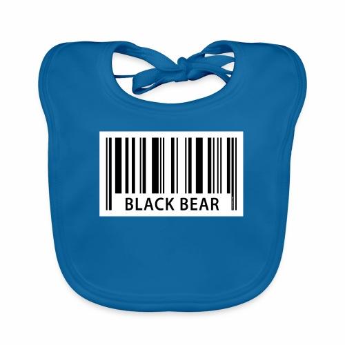 FP42 EAN Black Bear - Vauvan luomuruokalappu